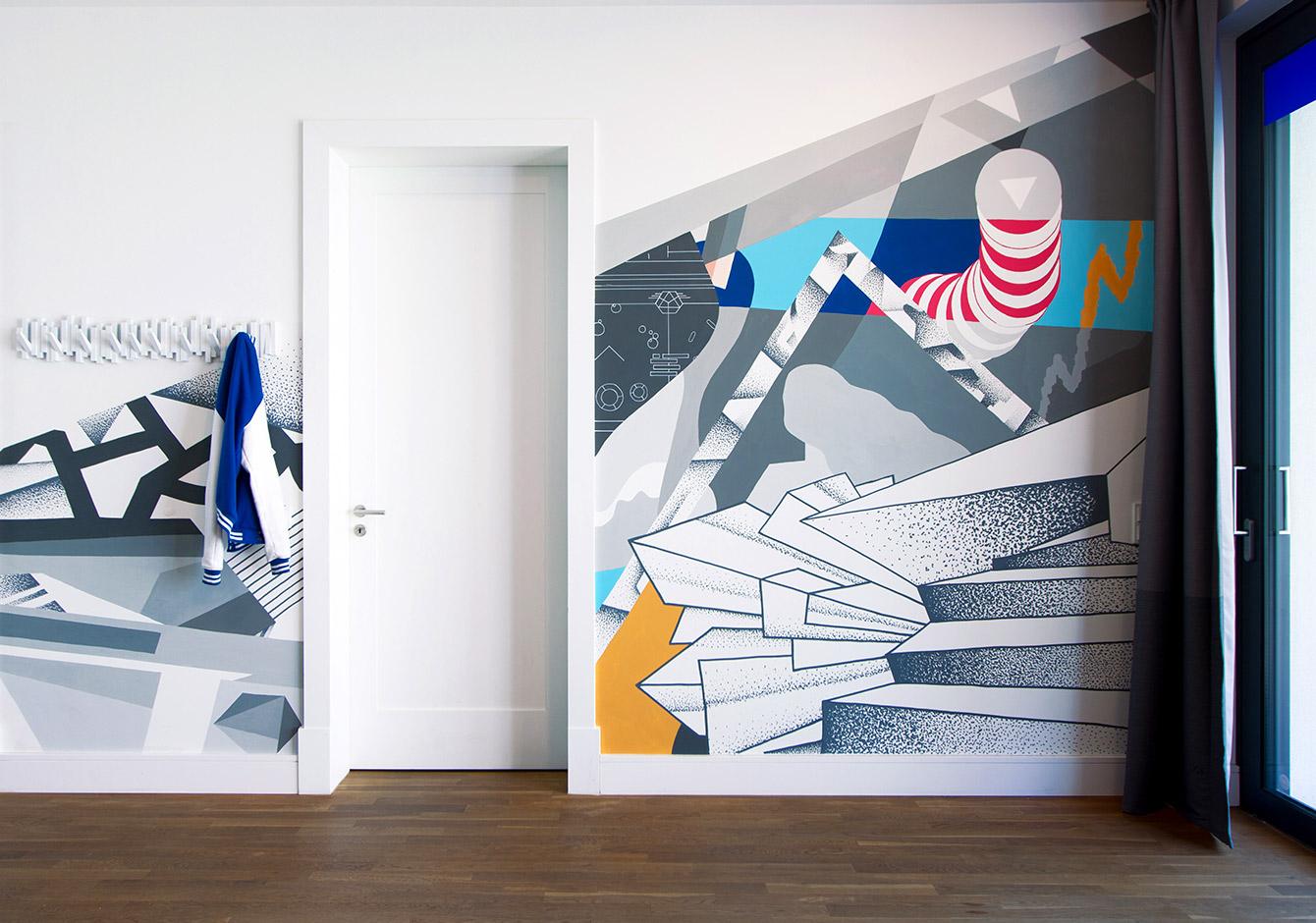 Bleech Mural